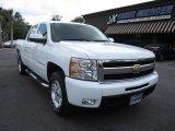 2009 Summit White Chevrolet Silverado 1500 LT Z71 Crew Cab 4x4 #65971178