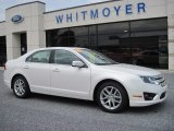 2010 White Suede Ford Fusion SEL #65970794