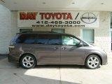 2012 Predawn Gray Mica Toyota Sienna SE #65970394