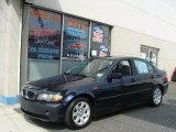 2004 Orient Blue Metallic BMW 3 Series 325i Sedan #65971127