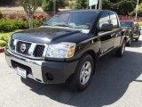 2007 Smoke Gray Nissan Titan SE Crew Cab #65970307