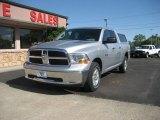 2010 Bright Silver Metallic Dodge Ram 1500 SLT Quad Cab 4x4 #65971109