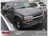 2001 Medium Charcoal Gray Metallic Chevrolet Suburban 2500 LT #65970664