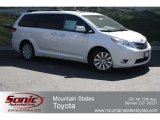 2012 Predawn Gray Mica Toyota Sienna Limited #65970222