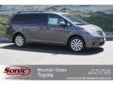 2012 Predawn Gray Mica Toyota Sienna XLE AWD #65970215