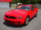 2012 Race Red Ford Mustang V6 Premium Coupe #65916329