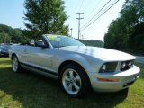 2007 Satin Silver Metallic Ford Mustang V6 Premium Convertible #65970610