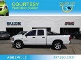 2008 Bright White Dodge Ram 1500 SLT Quad Cab #65916199