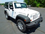 2012 Bright White Jeep Wrangler Rubicon 4X4 #65916029