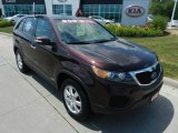 2012 Dark Cherry Kia Sorento LX AWD #65916019