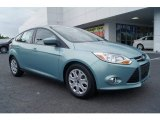 2012 Frosted Glass Metallic Ford Focus SE 5-Door #65970535