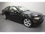 2004 Jet Black BMW 3 Series 325i Coupe #65915958
