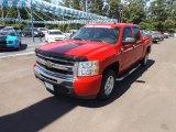 2009 Victory Red Chevrolet Silverado 1500 LT Crew Cab #65970906