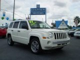 2007 Stone White Jeep Patriot Limited #544780