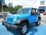 2011 Cosmos Blue Jeep Wrangler Rubicon 4x4 #65970478