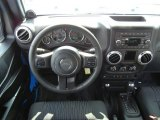 2011 Jeep Wrangler Rubicon 4x4 Dashboard