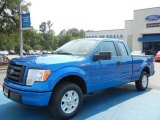 2012 Blue Flame Metallic Ford F150 STX SuperCab #65970455