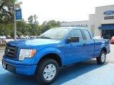 2012 Blue Flame Metallic Ford F150 STX SuperCab #65970455
