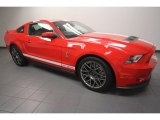 2011 Race Red Ford Mustang Shelby GT500 SVT Performance Package Coupe #65853425