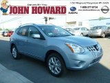 2012 Frosted Steel Nissan Rogue SL AWD #65970865