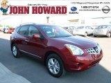 2012 Cayenne Red Nissan Rogue SV AWD #65970863