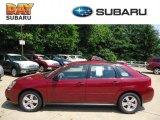 2005 Sport Red Metallic Chevrolet Malibu Maxx LS Wagon #65970446