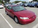2002 Firepepper Red Pearl Honda Accord SE Sedan #66043768