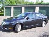 2010 Tuxedo Black Metallic Ford Fusion S #66043450
