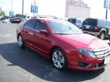 2011 Red Candy Metallic Ford Fusion Sport #66043423