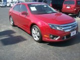 2010 Red Candy Metallic Ford Fusion Sport #66043415