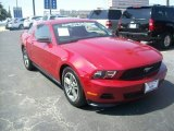 2011 Red Candy Metallic Ford Mustang V6 Premium Coupe #66043411