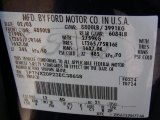 2003 F250 Super Duty Color Code for True Blue Metallic - Color Code: L2