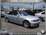 2004 Titanium Silver Metallic BMW 3 Series 330i Convertible #66043537