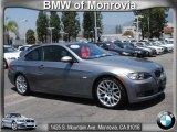2009 Space Grey Metallic BMW 3 Series 328i Coupe #66043536