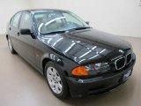 2000 Jet Black BMW 3 Series 323i Sedan #66043359