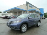 2012 Twilight Blue Metallic Honda CR-V EX-L 4WD #66043673