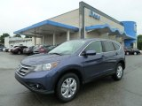 2012 Twilight Blue Metallic Honda CR-V EX 4WD #66043672
