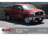 2012 Barcelona Red Metallic Toyota Tundra SR5 CrewMax 4x4 #66043339