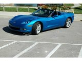 2008 Jetstream Blue Metallic Chevrolet Corvette Convertible #6562187