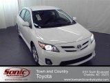 2011 Super White Toyota Corolla S #66080268