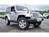 2010 Jeep Wrangler Bright Silver Metallic