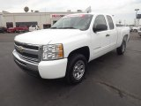 2011 Summit White Chevrolet Silverado 1500 LS Extended Cab #66080231