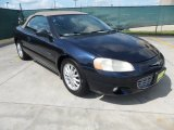 2002 Deep Sapphire Blue Pearl Chrysler Sebring LXi Convertible #66080158