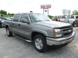 2006 Graystone Metallic Chevrolet Silverado 1500 Z71 Crew Cab 4x4 #66080350