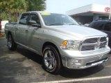 2010 Bright Silver Metallic Dodge Ram 1500 Big Horn Crew Cab #66079831