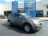 2010 Mocha Steel Metallic Chevrolet Equinox LS #66080099