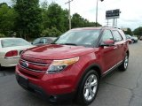 2011 Red Candy Metallic Ford Explorer Limited 4WD #66080069
