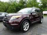 2011 Bordeaux Reserve Red Metallic Ford Explorer Limited 4WD #66080068