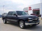 2006 Dark Blue Metallic Chevrolet Silverado 1500 LT Crew Cab #6563186