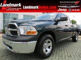 2011 Hunter Green Pearl Dodge Ram 1500 Big Horn Quad Cab #66080062